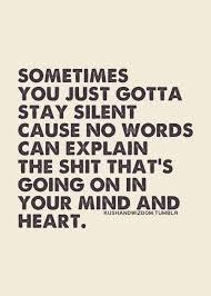 Silence isn't golden – djnikkihayes